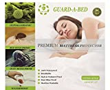 Waterproof Mattress Protector - Terry Cloth Waterproof Mattress Protector Cover - King Size, 100% Waterproof, Hypoallergenic & Breathable by Guard a Bed - Blocks Dust Mites & Bed Bugs - Wrinkle Free, Machine Washable - 10yr Warranty