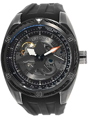 Invicta Aviator Reloj de Hombre automático Correa y Caja de Acero 28162: Amazon.es: Relojes