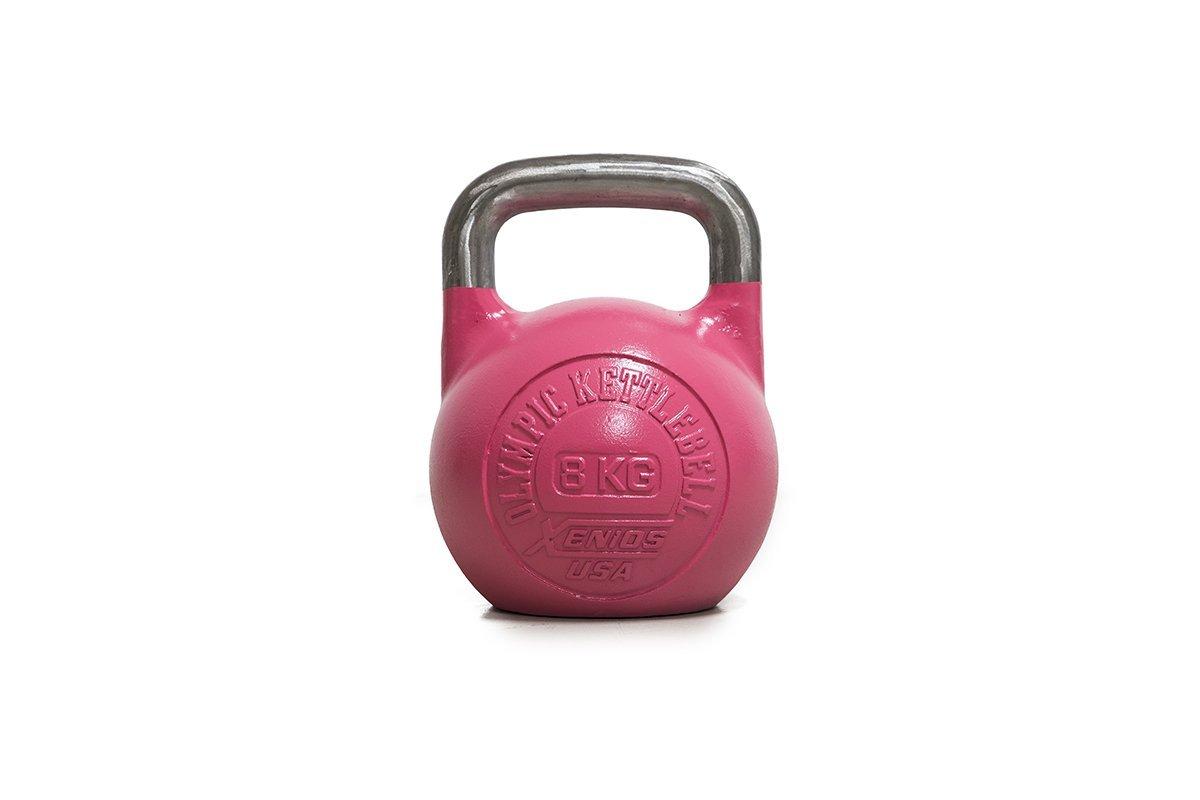Xenios USA XSSTOKBL8 Pesa Rusas - Russian Girevoy Competition Kettlebell 8 Kg Ideal para la práctica del Entrenamiento Funcional, WOD, potenciamiento Muscular