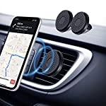 Amazon Brand – Eono Car Phone Holder Magnetic【2 Pack】, 6*N50 Powerful Magnet Car Phone Mount, Air Vent Mobile Phone…