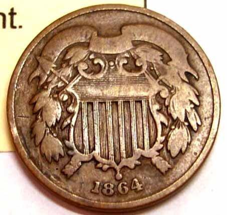 First Year 2 Cent Piece