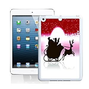 Cartoon Santa Claus Pattern Back Case for Apple iPad mini with Retina Display AR258309