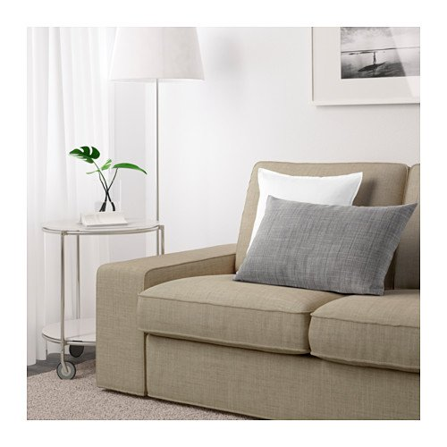 IKEA KIVIK - Cover for 2-Seat Loveseat (74 3/4 '') Isunda Beige (cover only) by IKEA