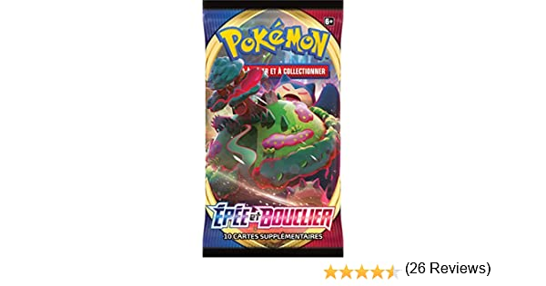 Pokemon Espada y escudo Serie 1 (EB01): Booster, POEB02 , color ...