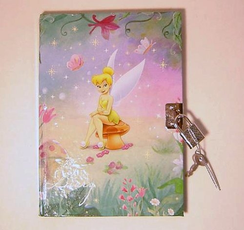 Tinker Bell Diary with Lock