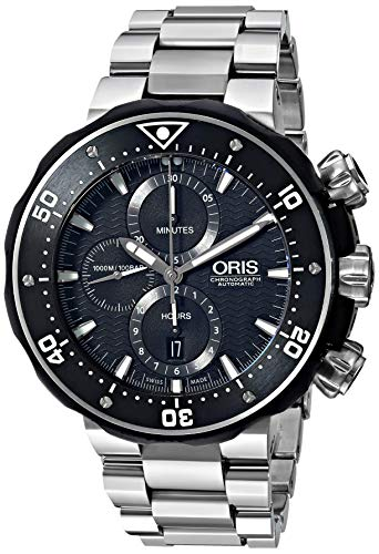 Oris Pro Diver Chronograph Mens Watch Kit 774 7683 7154 MB by Oris
