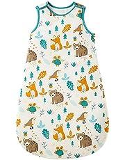 Baby vinter sovsäck barnsovsäck 2,5 Tog sovsäck av 100 % bomull olika storlekar från födsel till 18 månaders ålder sovsäck