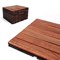 Deck Tiles - Patio Pavers - Acacia Wood ...