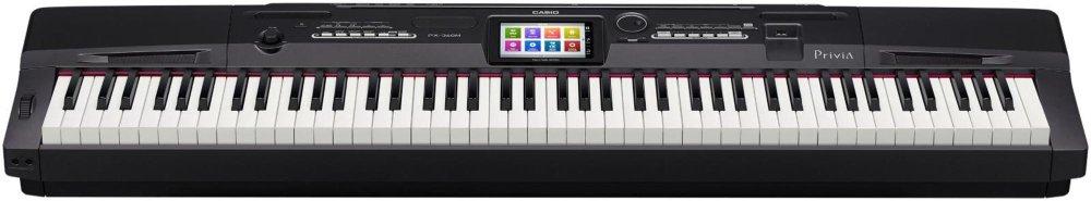 Casio PX-360BK 88-Key Digital Piano with Power Supply by Casio (Image #4)