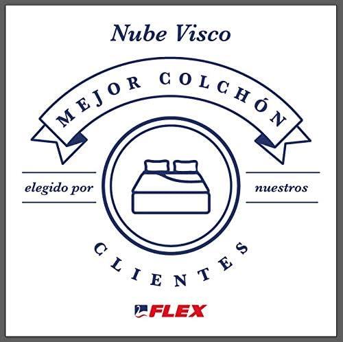 FLEX Nube Visco Gel - Colchón muelles ensacados, 135 x 190 cm