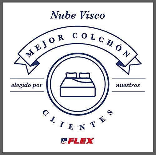 FLEX Nube Visco Gel - Colchón muelles ensacados, 150 x 190 cm