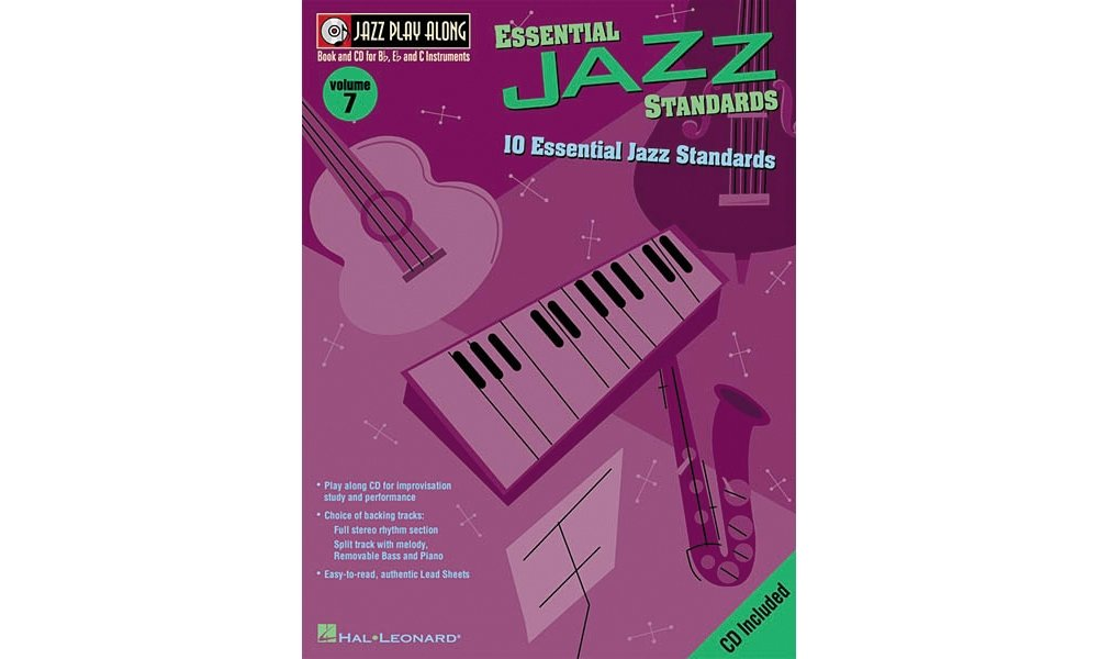 Read Online Hal Leonard Jazz Play-Along Series Essential Jazz Standards Book with CD pdf