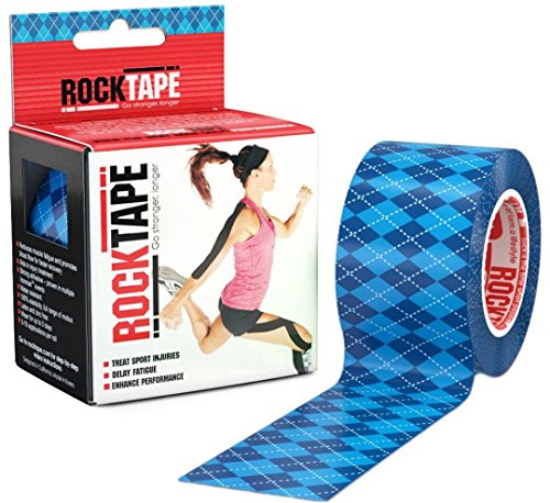 5 Channel Transmitters (RockTape Kinesiology Tape for Athletes - 2-Inch x 16.4-Feet (Blue Argyle))