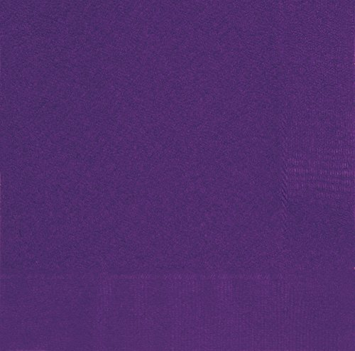 Dark Purple Paper Napkins 20ct