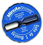 (US) Shower Clock Timer, Five Minute Shorter Shower & Save | Baño de 5 Minutos