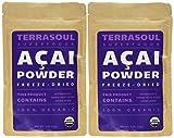 Terrasoul Superfoods Acai Berry Powder (Freeze-dried, Organic), 8-ounce