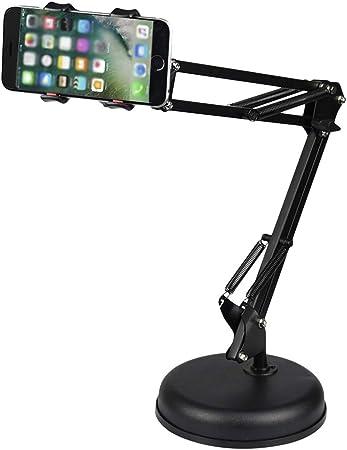 Booding Soporte Universal para Smartphone, Flexible, de Dual Brazo para ,con Abrazadera o arandela Soporte para teléfono móvil(Phone Stand Black): Amazon.es: Hogar