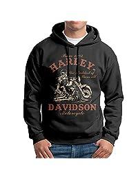 CCABB8 Men's Harley Davidson.png Long Sleeve Sweatshirt Hoodies X-Large