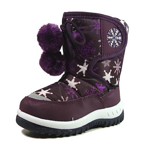 Little Girls Snow Boots - 7