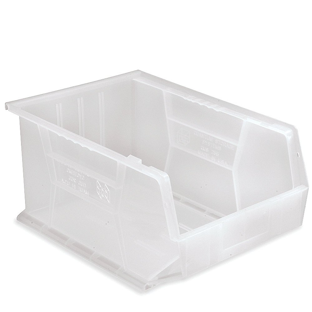 6 Pack Quantum Ultra Series Clear Lids For Use with Qus235 Ultra Stack and Hang Bin