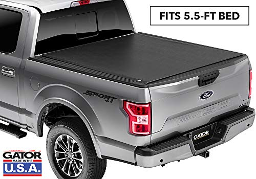 Gator ETX Soft Roll Up Truck Bed Tonneau Cover | 53315 | fits 15-19 Ford F-150 , 5.6' Bed | Made in the USA (Best Roll Up Tonneau Cover For The Money)