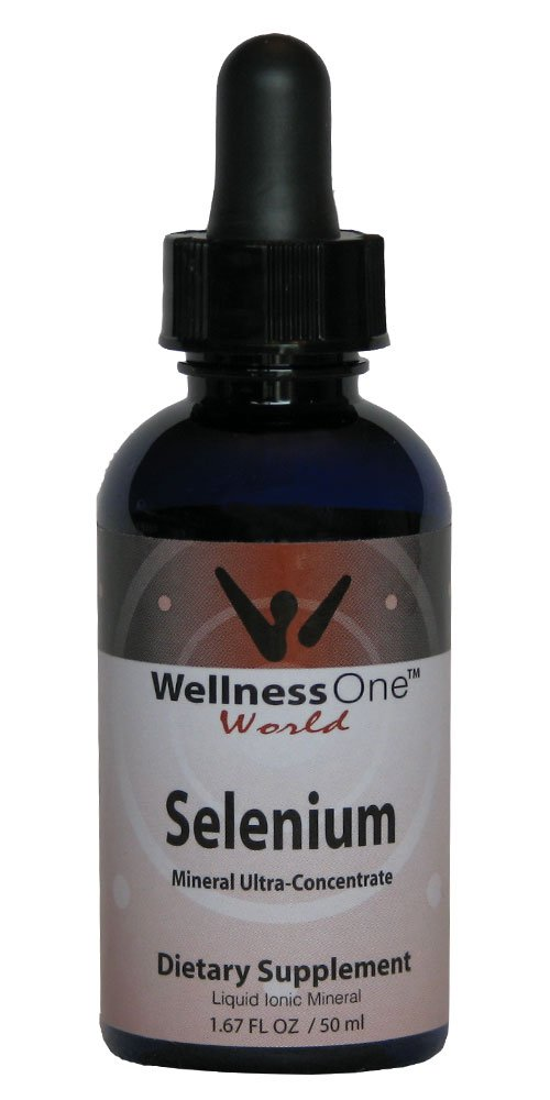 Selenium - Premium Liquid Ionic Mineral (100 days at 70 mcg Per 10 Drop Serving) 50 ml bottle