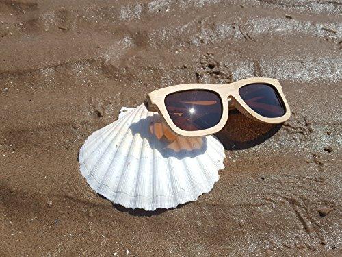Brox Beige Bamboo Le' M para Gafas de sol hombre Natural HSwpqCS