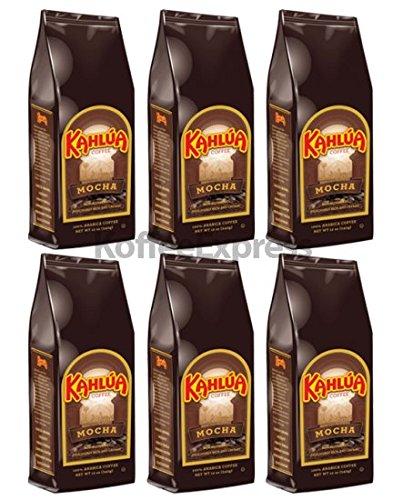 Kahlua - Mocha Gourmet Ground Coffee (6 bags/12oz)