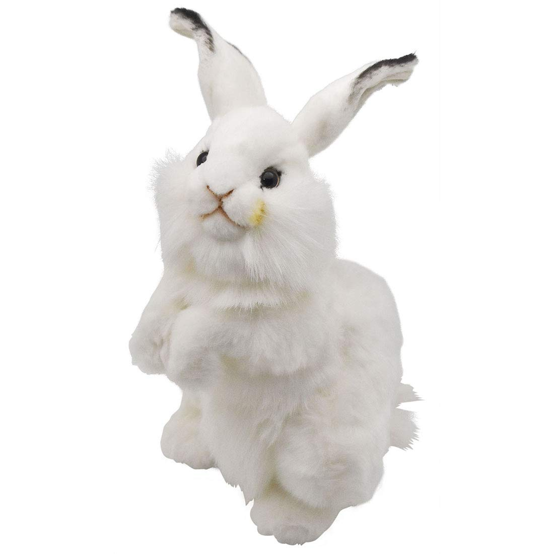 HANSA Rabbit Plush Animal Toy, 13'', White by HANSA