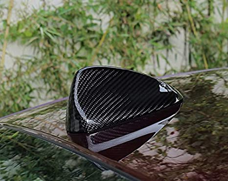 CSS-Hamster New Carbon Fiber Antenna Cover Compatible with ALFA Romeo Giulia 2016-2020 1PC