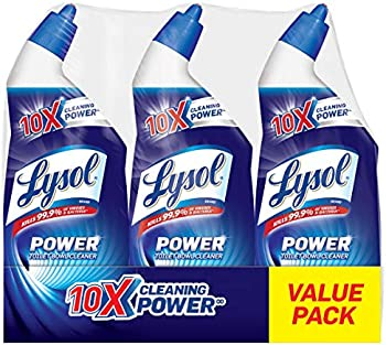 3-Count Lysol 10x Cleaning Power Toilet Bowl Cleaner