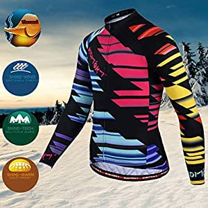 BEESCLOVER Cycling Jersey 2018 Men's Winter Long Sleeve Warm Pro Thermal Cycling Clothing Fleece MTB Bicicleta Ropa Ciclismo Color 11 5XL