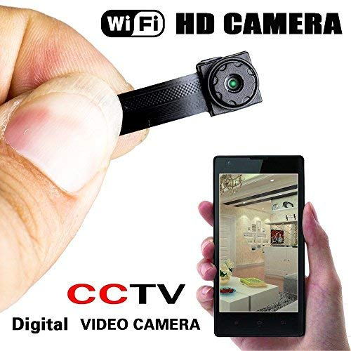 Wireless Spy Nanny Cam Mini Micro Dvr WIFI IP Pinhole DIY Digital Video Camera ()