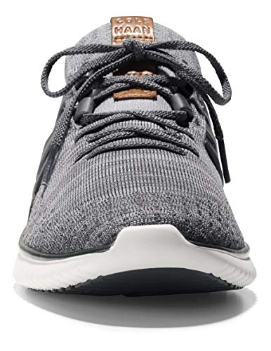 Cole Haan Men's Grand Motion Woven Stitchlite Sneaker, Magnet/Ironstone Knit/British Tan/Ivory, 15 W US
