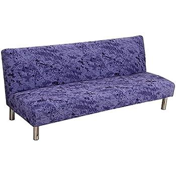 Amazon Com Armless Sofa Cover Stretch Sofa Bed Slipcover