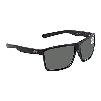 e909e40b35 Image Unavailable. Image not available for. Color  Costa Del Mar Costa Del  Mar RIN11OGGLP Rincon Gray 580G Shiny Black Frame ...