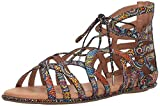 Gentle Souls Women's Break My Heart 3 Gladiator Sandal, Multi, 6 M US