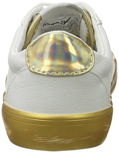 Femme Sneakers Mirrow Or Pepe Gold Jeans Clinton Basses 8F4S4q