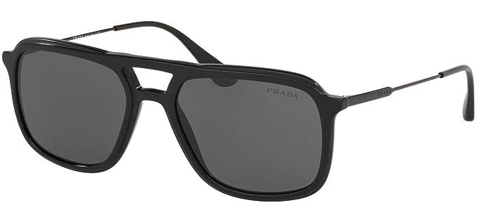 Amazon.com: Prada PRADA PR 06VS - Gafas de sol para hombre ...