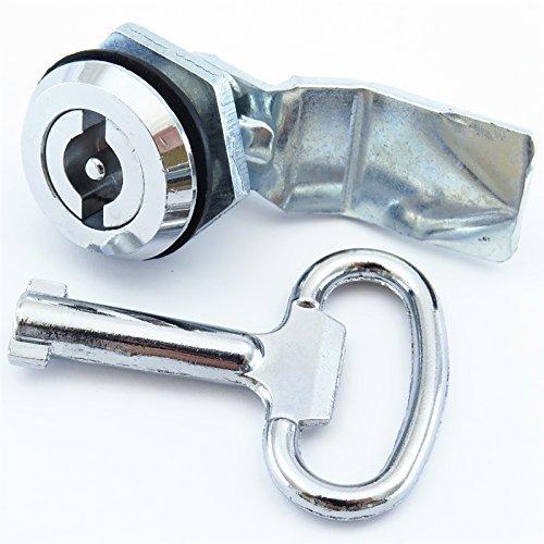 YC-EL-3-K YuCo UNIVERSAL Enclosure lock metal with 1 key by YuCo Universal Enclosure lock