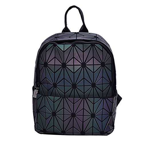 Rainbow Backpack for Women Fashion-Double Shoulder Bag w/ Large Storage – Stylish & Business Backpacks & Traveling Backpack – Lightweight & Durable by - Fashion Large