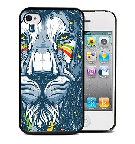 Coque silicone BUMPER souple IPHONE 5c - Lion tigre animaux 4 DESIGN case+ Film OFFERT + choisir modele telephone ci dessous