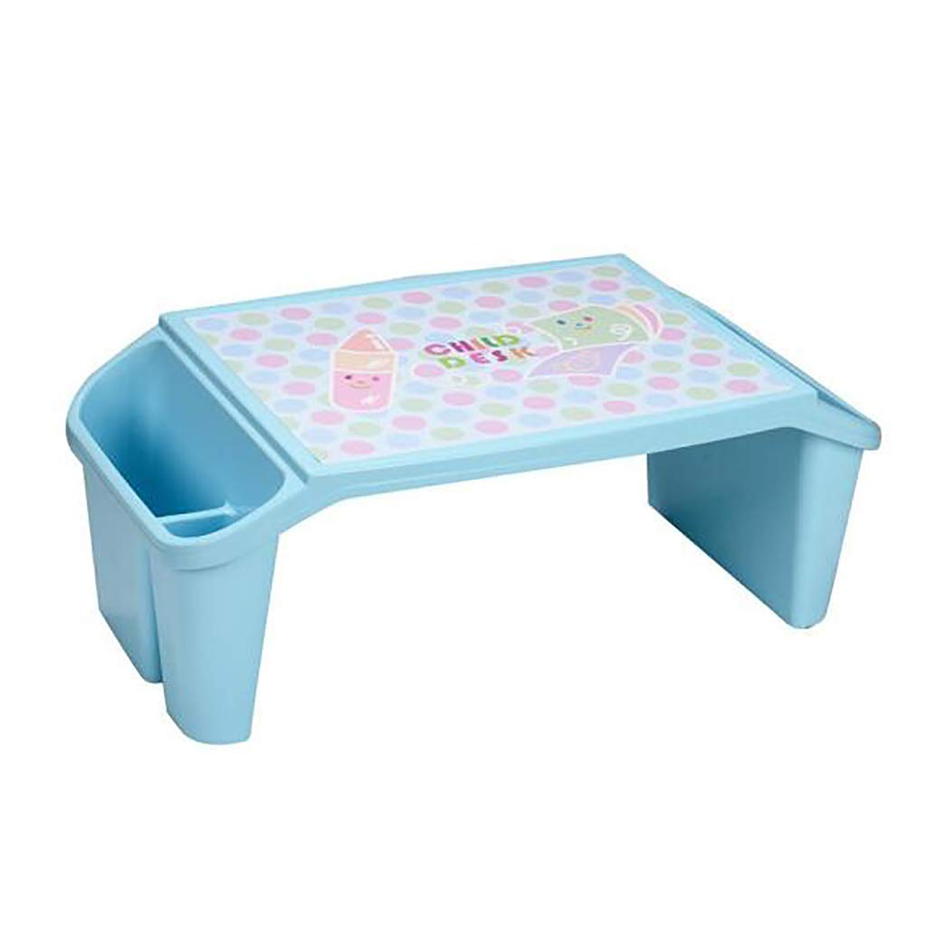 Children's Play Table Kids Plastic Small Study Table Desk for Indoor & Outdoor Garden Patio Beach Home Toddlers Boys & Girls Activity Craft Table by Children Desk