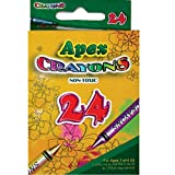 Crayons 24ct. Boxed, (2 Inners of 24), Case Pack of 48, Ideal for Bulk Buyers