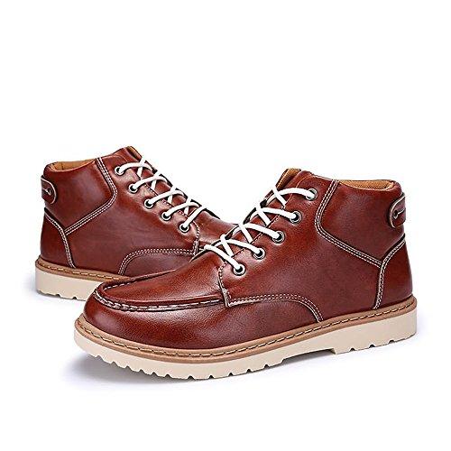 Color Xiaojuan uomo shoes Brown Scarpe bianco con unita RED EU Dimensione tinta oxford in colore da BROWN tacco Red stile 41 piatto tq6qrn
