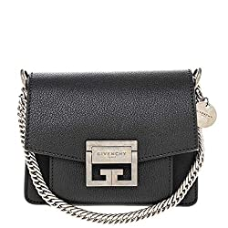 Givenchy Women?��s Mini Gv3 Bag In Grained Leather Black