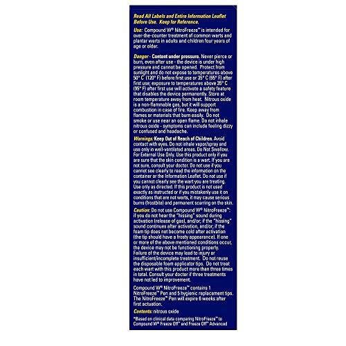 Compound W Wart System 1 Nitrofreeze Pen 5