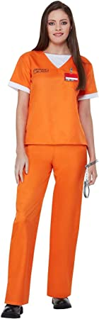 Disfraz de Presa de Orange is The New Black para Mujer: Amazon ...