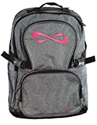 Nfinity Grey/Pink Sparkle Backpack