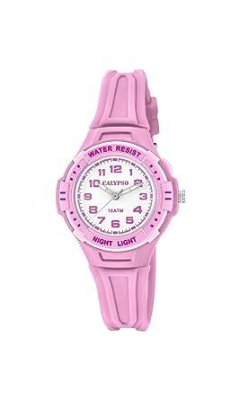 Calypso Reloj Análogo clásico para niñas de Cuarzo con Correa en Plástico K6070/1: Amazon.es: Relojes